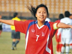 Jamuna Gurung Nepali female footbal captain