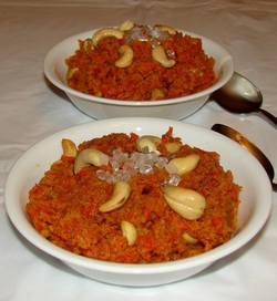 carrot fudge-halwa