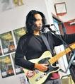 Guitarist Diwas Gurung