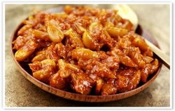 garlic chili achar