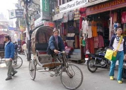 Traveling In the Streets of Kathmandu