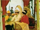 king and queen during the coronation