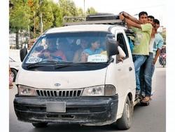 microbus in nepal