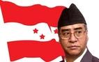 Political leader Sher Bahadur Deuba