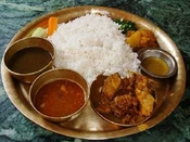 Eating, Nepali style