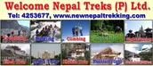 welcome nepal treks and travel